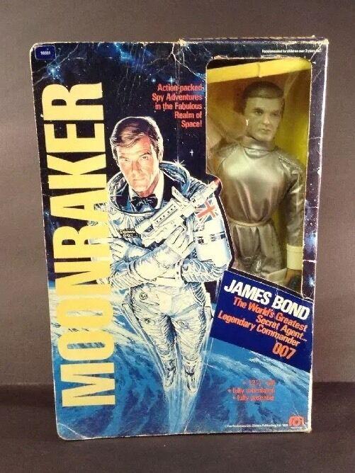 Mego 1979 Moonraker James Bond 12 1/2  Action Figure-in Scatola  381