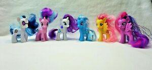 Lot of 6 2010 G4 My Little Pony Rare MLP Brushable Unicorn Pegasus Horse Ponies