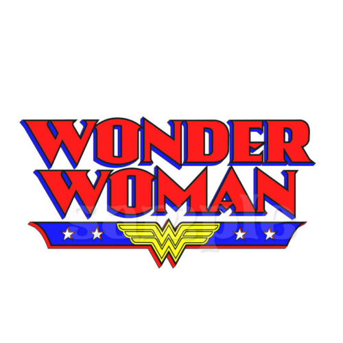 WONDER WOMAN IRON ON TRANSFER #3