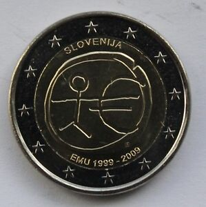 2 € common commemorative euro coin 2009 EMU uncirculated LUXEMBOURG