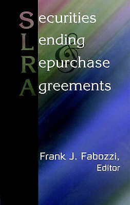 1 of 1 - NEW Securities Lending and Repurchase Agreements