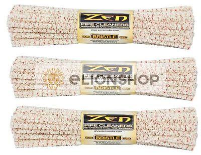 2x Bundles 88 Count ( Zen Hard Pipe Cleaners ) Absorbent Bristle