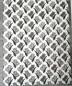 6678-Vintage-1940-Alice-Brooks-DUTCH-TULIP-QUILT-Pattern-to-SEW-Reproduction
