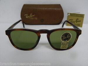 ec15b17ad4 New Vintage B L Ray Ban Gatsby Style 2 Square Mock Tortoise W0935 ...
