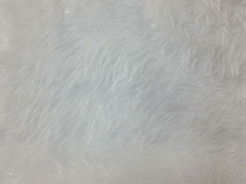 "Soft Synthetic Faux Fur Fabric x 59/""//150cm Width Choice of Colour"