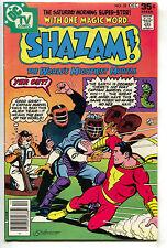 Shazam 32 DC 1977 FN VF Captain Marvel Baseball Detriot Tiger Home Plate
