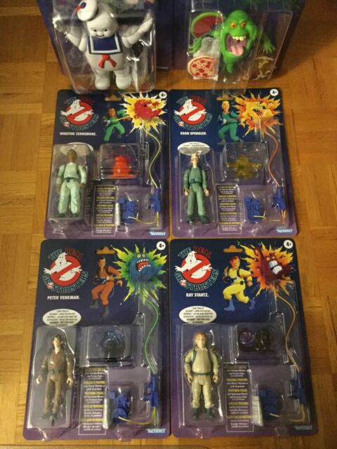 The Real Ghostbusters Kenner 2020 Complete Set of 6 Figures Walmart Exclusive