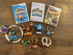 Nintento-Wii-Skylanders-Bundle-3-Games-Portal-And-Figures