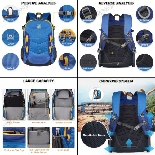 Fashion Outdoor Hiking Camping Mountaineering Travel Backpack Multifunction Bag