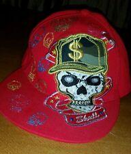 K&B ETHOS Original baseball hat large New York fitted cap skulls Embellished