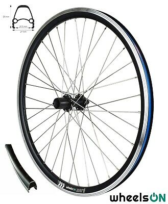 8 Speed Shimano Cassette Sapim Stainless 26 inch WheelsON Rear Wheel E-Bike//MTB