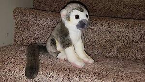 Rare Leosco Collection Squirrel Monkey Plush Stuffed Animal Euc