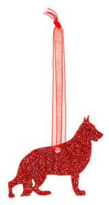 German-Shepherd-Dog-Style-A-Glitter-Christmas-Decoration-11-colour-choices
