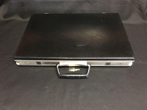 1970s Samsonite Slim Briefcase w/ Key!