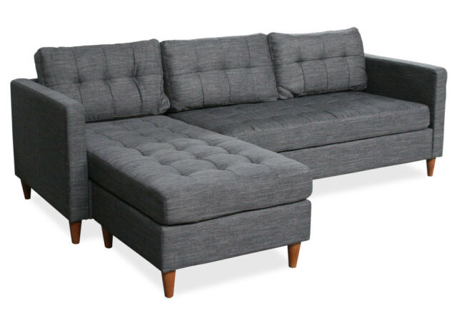 Eckcouch grau  sofa.. collection on eBay!