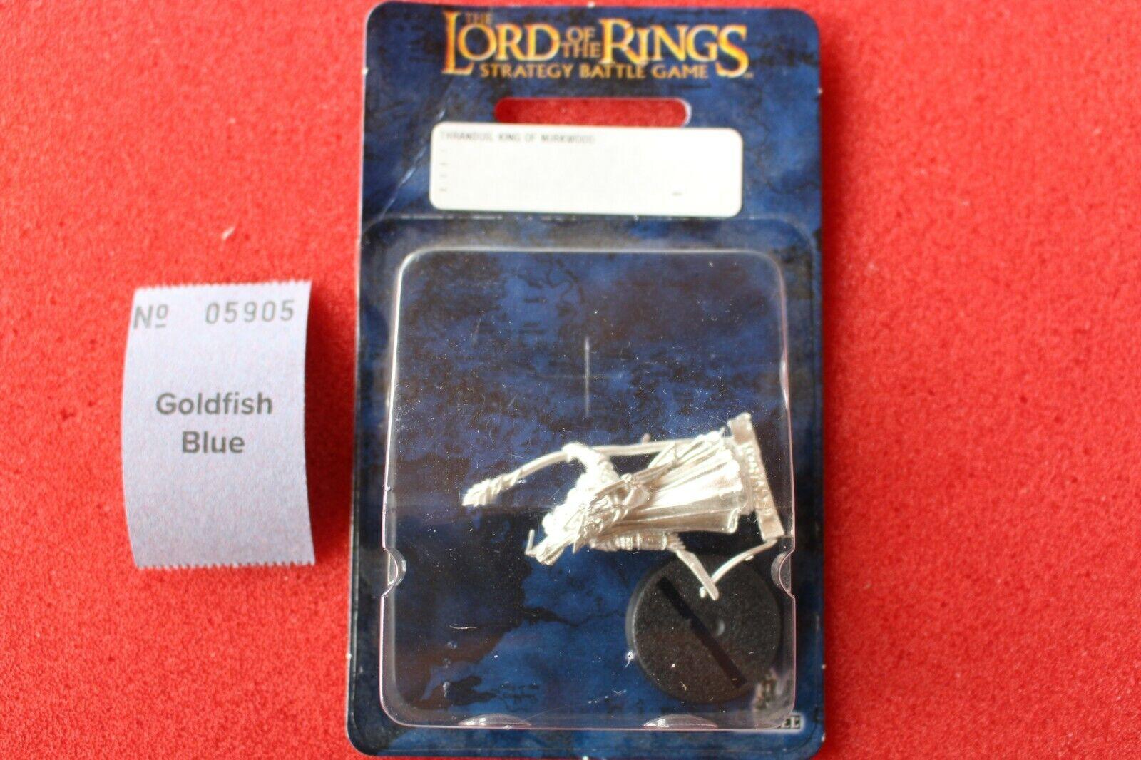 Games Games Games Workshop Lord of the Rings Thranduil King of Mirkwood Metal LoTR BNIB New d35
