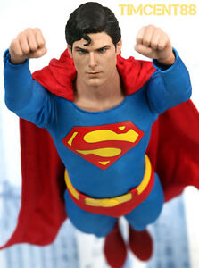 In-Stock-Hot-Toys-1-6-Superman-1978-Christopher-Reeve-Figure-Normal-Open-New