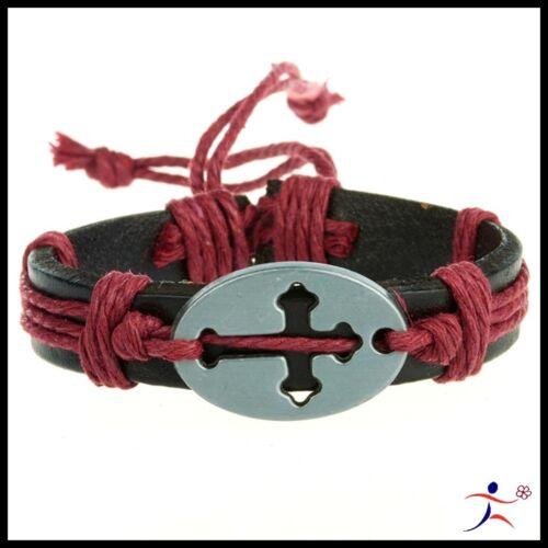 Boy//Girl /'s Cool  Cuff Hemp Surfer Tribal MultiWrap Wrist Leather Bracelet  ZPZ