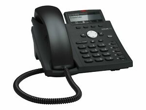 Snom D315 VoIP phone 3-way call capability SIP 4 lines black blue 4258
