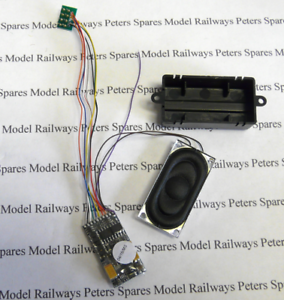 ESU 55464 V4 LMS Mogul Steam Loco 8-Pin 8-Pin 8-Pin DCC Sound Decoder South West Digital af4bd1