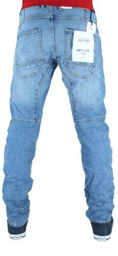 Jack /& Jones Uomo Jeans Denim Firmati Anti Fit Is Time Soldi,Stella G Pantaloni