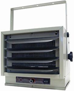 New Comfort Zone Industrial Ceiling Mount Heater 5000