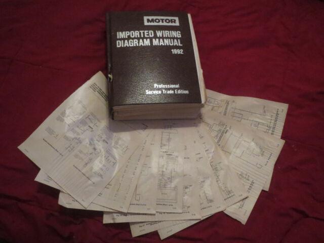 1992 Suzuki Swift Wiring Diagrams Schematics Set