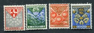Nederland nvph 199-202, serie Kinderzegels 1926, ongebruikt MH ;