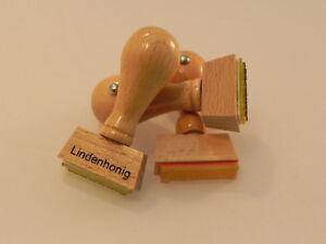 Miel-cachet Frühtrachthonig Apicole, Apiculteurs, Bois, Bois-g Imkerei, Imker, Holz,holzstempel Fr-fr Afficher Le Titre D'origine Sensation Confortable