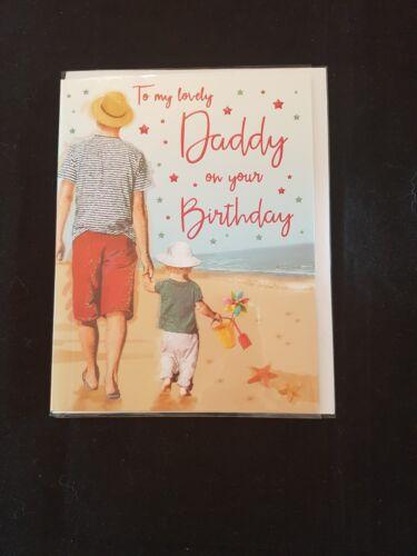 Daddy Quality  Happy Birthday Greeting Card 18.5cm x 14.5cm