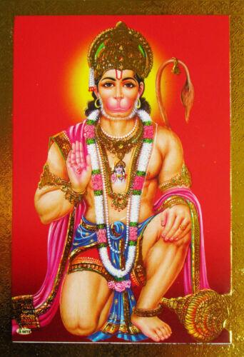 HANUMAN Hanumat Prägedruck Altarbild versch Motive Hanumann Hannuman Affengott