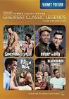 TCM Greatest Legends Sidney Poitier 0883929290505 With Glenn Ford DVD Region 1