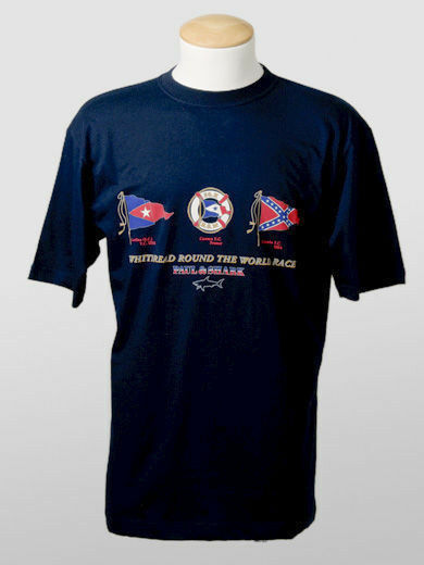 New Paul & Shark Navy Cotton T-Shirt  Size M