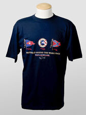 New Paul & Shark Navy Cotton T-Shirt  Size M