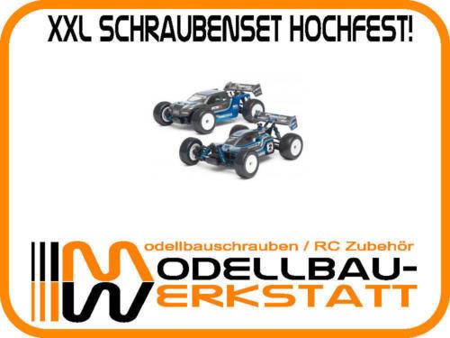 XXL Schrauben Set Stahl hochfest Team Associated RC18B2 RC18T2 Asso screw kit