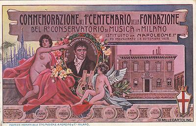 * MILANO - Commemorazione I° Centenario Fondazione Conservatorio di Musica 1908