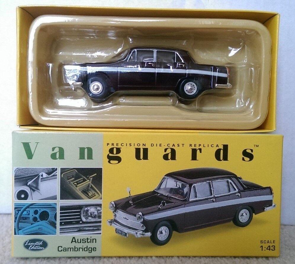 Corgi Vanguards VA44002 Austin Cambridge Maroon Grey Ltd Ed. No. 0003 of 5000