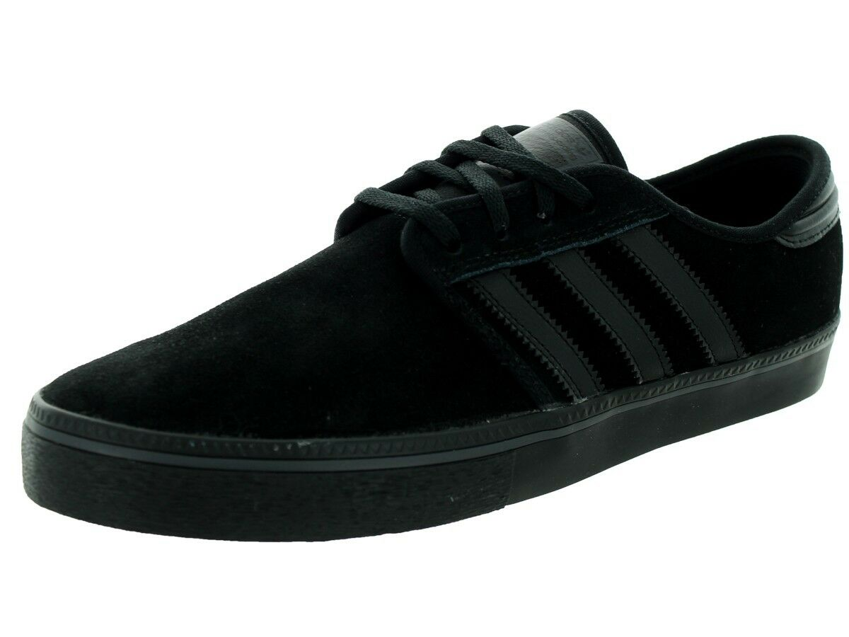 Adidas SEELEY ADV Black Black Casual Skate Sneaker Discounted Price reduction Men's Shoes Wild casual shoes