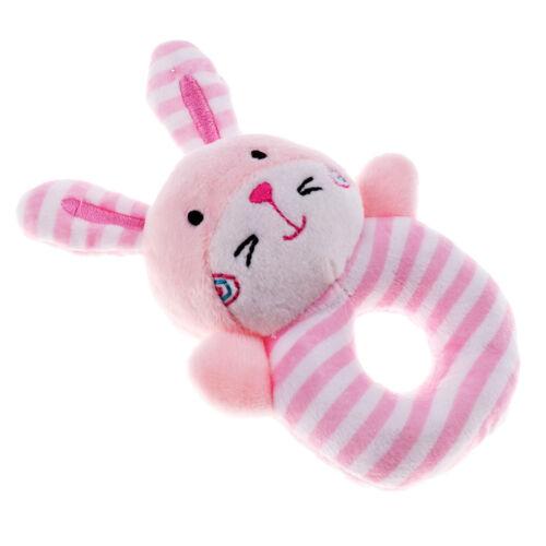 Babyrassel Tier Entwicklungsspielzeug Bett Glocken Baby Ring-Greifling