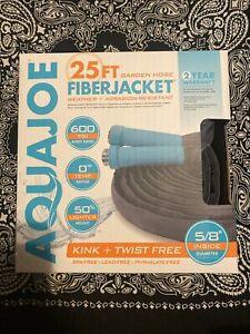 Aqua Joe AJFJH25-58-MAX Superlight Fiberjacket Max Garden Hose 25-Foot