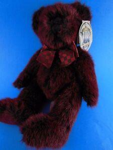"MWT Russ 100th Anniversary Of the Teddy Bear Plush Splendor 10"" Excellent"