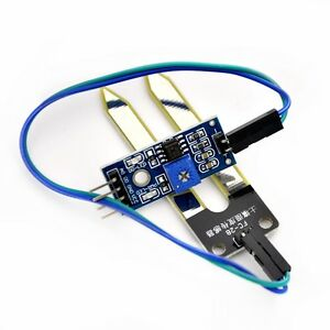 1x Feuchtigkeitssensor Bodenfeuchtesensor Hygrometer Arduino Soil Moisture Pi