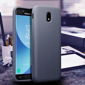 Samsung-Galaxy-J5-2017-Protective-Bumper-Gel-Case-Drop-Resistant-Cover-GREY