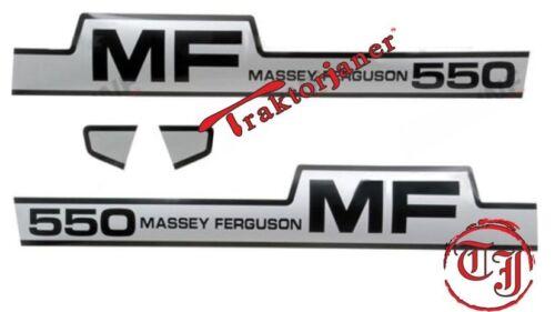 Aufklebersatz Massey Ferguson MF 550