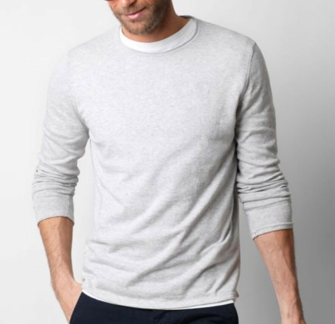 Scalpers ROLL LS TRICOT GREY