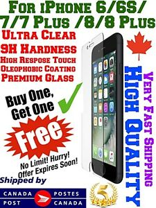 Premium-Tempered-Glass-Screen-Protector-For-iPhone-8-7-Plus-6-6S-MAX-XS-X-XR