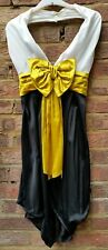 Jean Paul Gaultier Femme silk bow dress Uk8