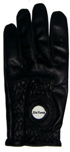 Black-Golf-Glove-Magnetic-Ball-Marker-Cabretta-Leather-for-Righty-Golfer