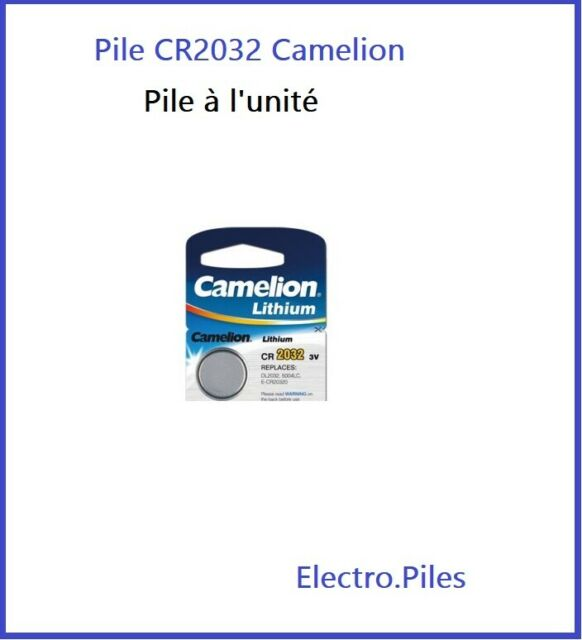 Battery Cells Buttons CR2032 3V Lithium Brand Camelion