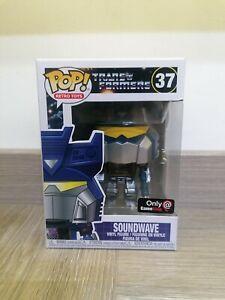 Transformers Soundwave metallico Funko Pop! Gamestop esclusivo